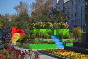 The finalists of the Flower Jam Competition will be announced on the morning of March 2 at the International Landscape Conference at the Aptekarskiy Ogorod Garden in Moscow
